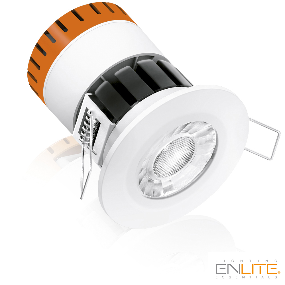 E8 8W 4000K 230V IP65 Brandwerende Downlight